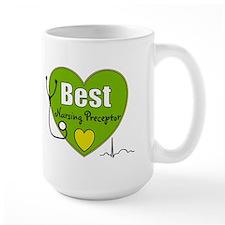 best nursing preceptor green.PNG Mug
