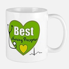 best nursing preceptor green.PNG Mug