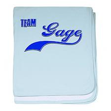 Team Gage baby blanket