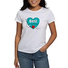 Best Nursing Preceptor blue.PNG Tee