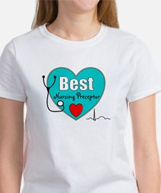 Best Nursing Preceptor blue.PNG Women's T-Shirt