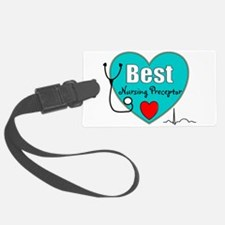 Best Nursing Preceptor blue.PNG Luggage Tag