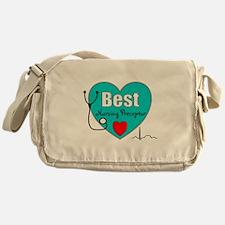 Best Nursing Preceptor blue.PNG Messenger Bag