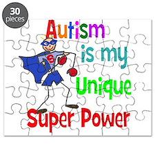 Autism is my Unique Super Power Puzzle