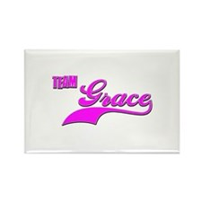 Team Grace Rectangle Magnet