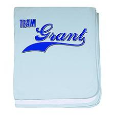 Team Grant baby blanket