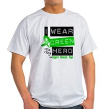 I Wear Green Ribbon For My Hero T-Shirt