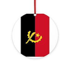 angola flag2 Ornament (Round)
