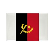 angola flag2 Rectangle Magnet