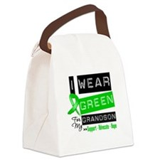 I Wear Green For My Grandson Canvas Lunch Bag