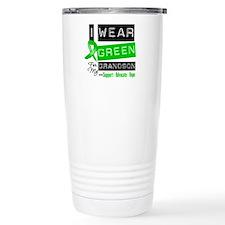 I Wear Green For My Grandson Travel Mug