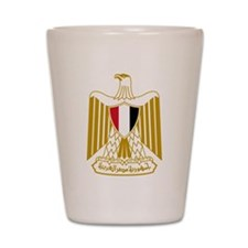 egypt coat of arms Shot Glass