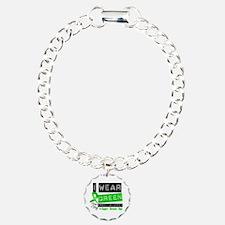 Green Ribbon Granddaughter Bracelet