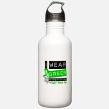 Green Ribbon Father-in-Law Water Bottle