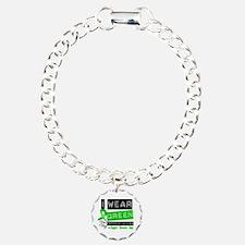 Green Ribbon Father-in-Law Bracelet