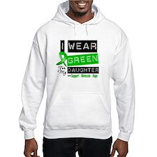 Green Ribbon Daughter Hooded Sweatshirt