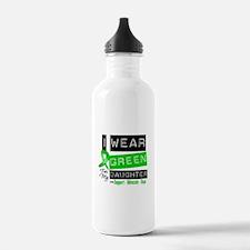 Green Ribbon Daughter Water Bottle
