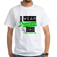 I Wear Green Ribbon For My Dad Shirt