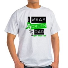 I Wear Green Ribbon For My Dad T-Shirt