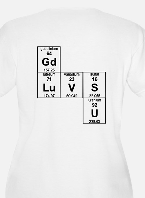 Periodic Table God Loves You T-Shirt