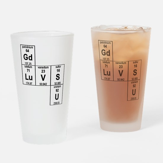 Cute Christianity Drinking Glass