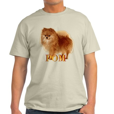Pomeranian head dog art Light T-Shirt