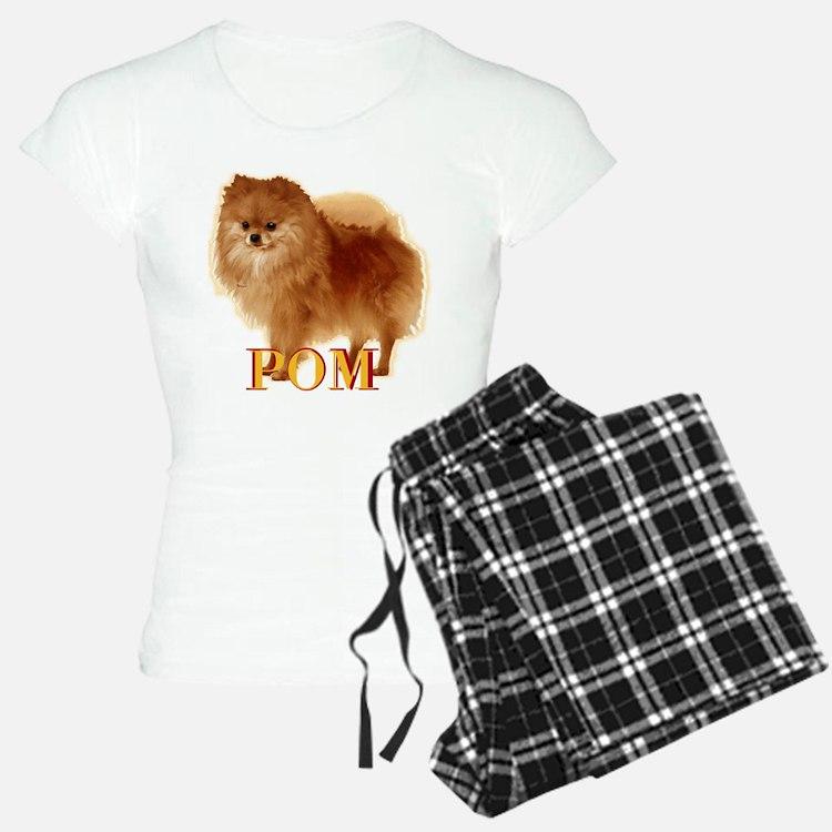 Pomeranian head dog art Pajamas