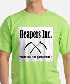 Reapers Inc. Logo and Slogan T-Shirt