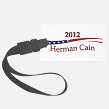 HermanCain.png Luggage Tag