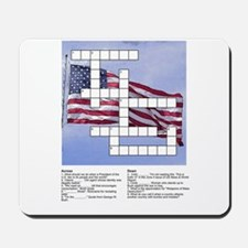Political Puzzle on Flag Mousepad