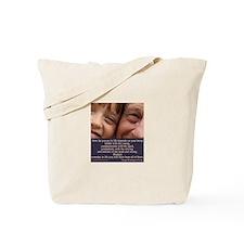 'A spark' Tote Bag