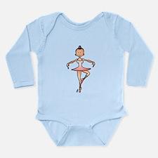 Ballet dancer Long Sleeve Infant Bodysuit