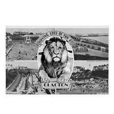 Clacton Lion Postcards (Package of 8)