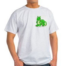 Green Dragold Ash Grey T-Shirt
