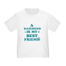 A Daschund is my best friend T