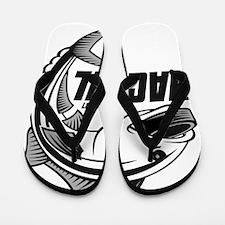 MACRHL Logo Flip Flops