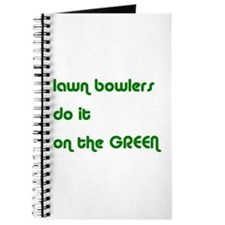 Lawn Bowlers Do It Journal