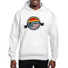 German American 2x Awesome Hoodie