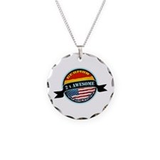 German American 2x Awesome Necklace