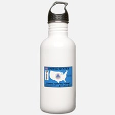 Zombie Hunting Permit Sports Water Bottle