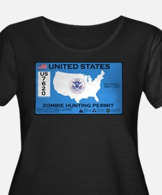 Zombie Hunting Permit T