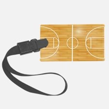 Basketball Court Luggage Tag