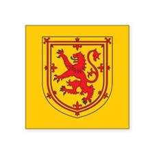 "Scotland Emblem Square Sticker 3"" x 3"""