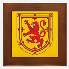 Scotland Emblem Framed Tile