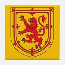 Scotland Emblem Tile Coaster