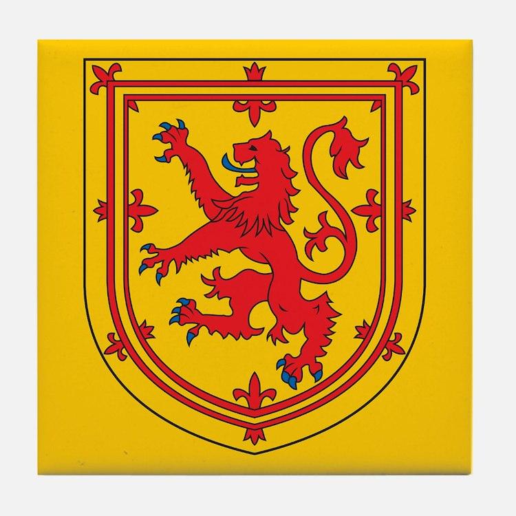 Scotland Emblem Tile Coaster