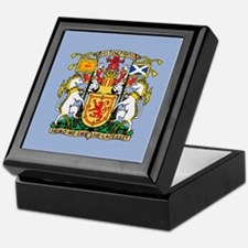 Scotland Coat Of Arms Keepsake Box