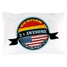 German American 2x Awesome Pillow Case