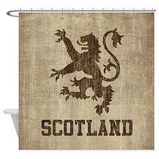 Vintage Scotland Shower Curtain