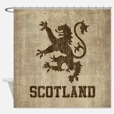 Vintage Scotland Shower Curtain